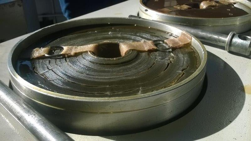 Filtragem de óleo hidráulico