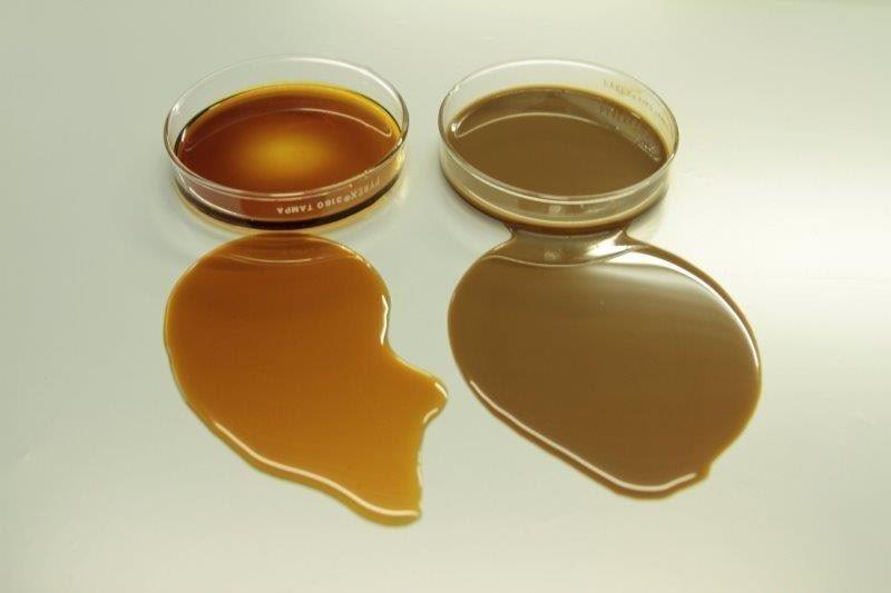 Purificação de óleos industriais