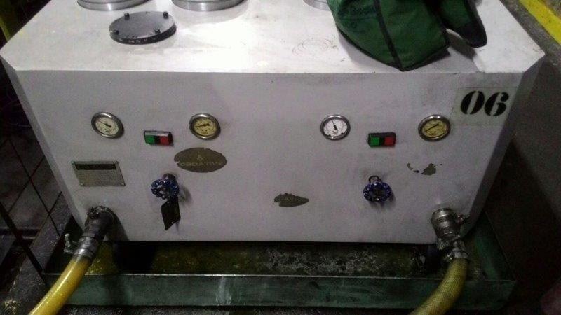 Sistema de filtragem de óleo hidráulico