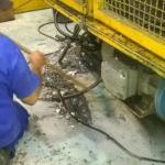 Filtragem de óleo isolante