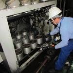 Manutenção preventiva de óleo isolante